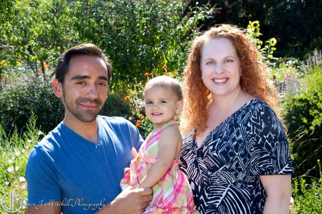 Gardens at Lake Merritt family photo