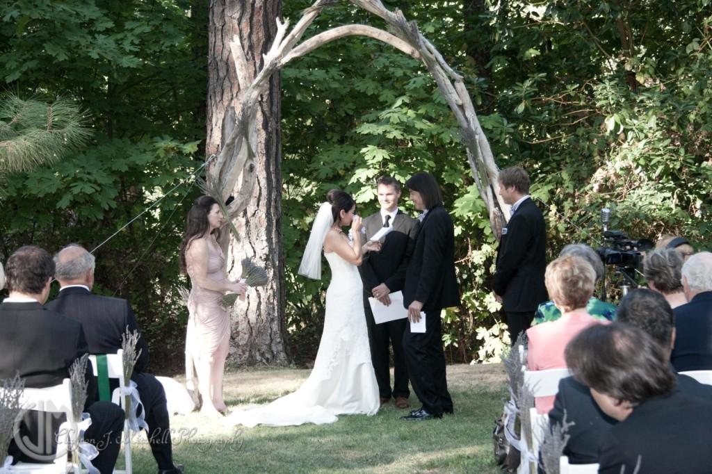 DIY Wedding at Weasku Inn