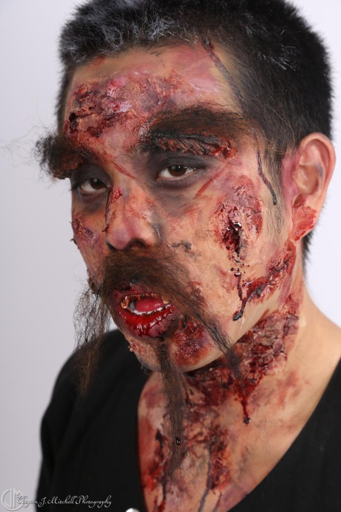 creepy makeup for halloween