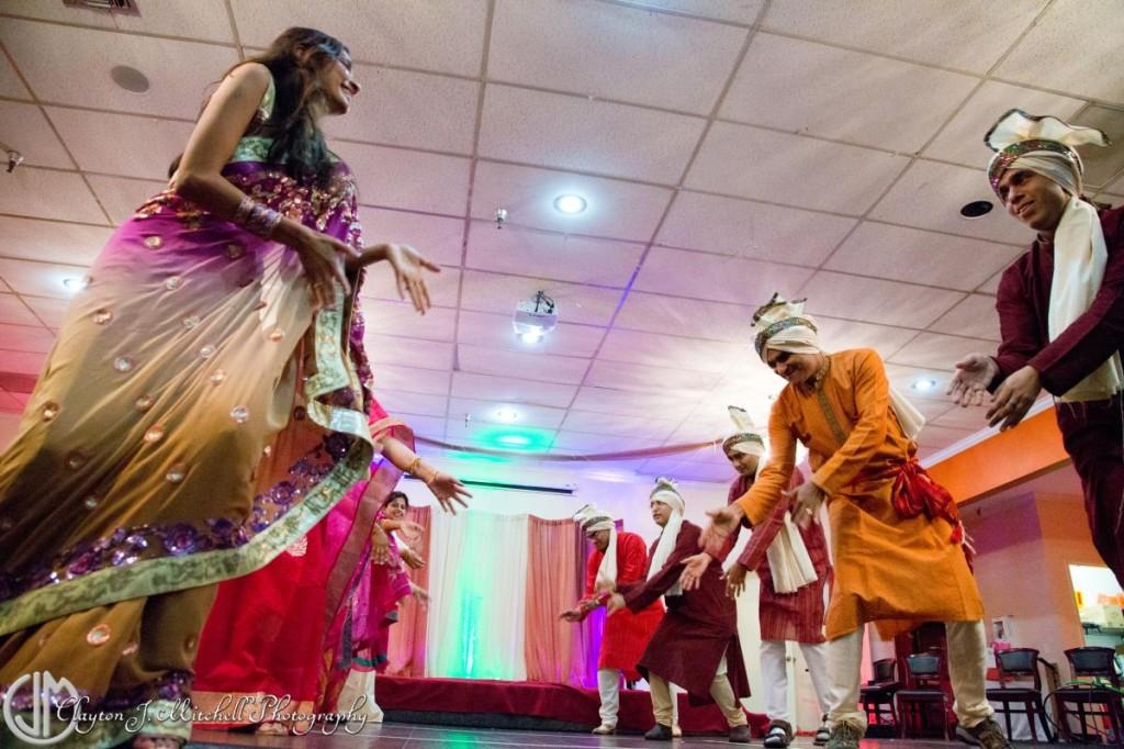 Diwali dancers