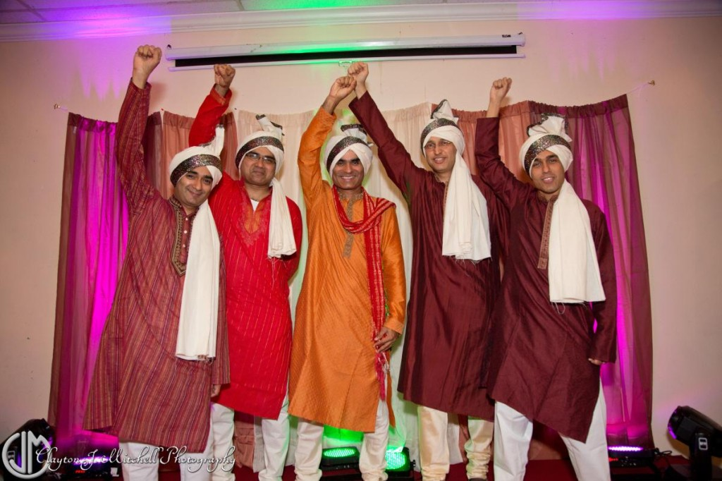 Men's Diwali portrait