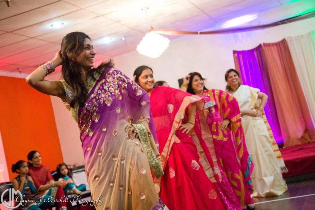 colorful saris