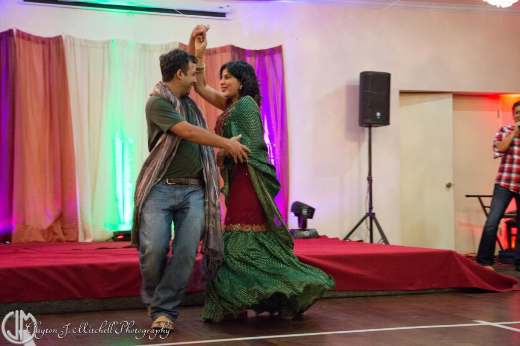 dance at Diwali party