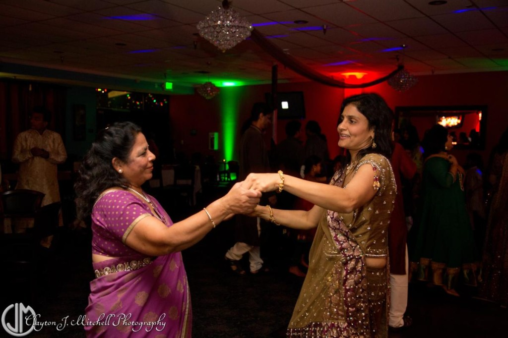 dancing at fun Diwali celebration