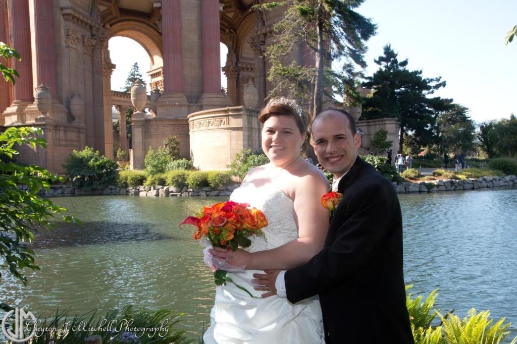 Wedding at Palace of Fine Arts