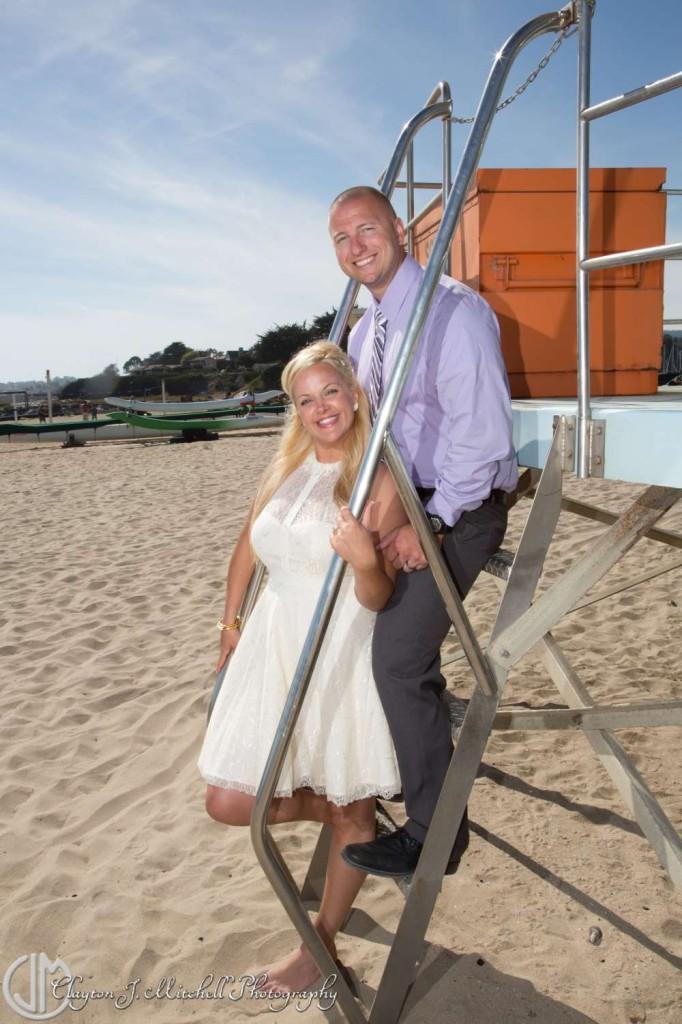 Bride and Groom Santa Cruz