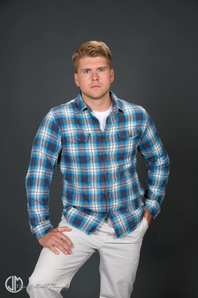 Male Model in Plaid