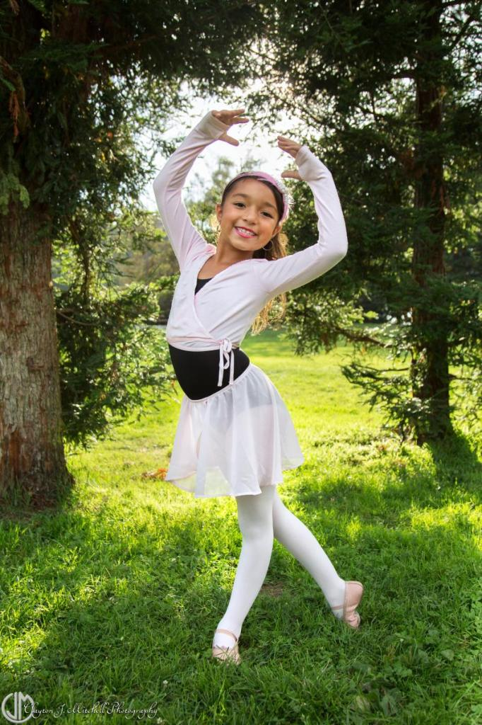 outdoor ballet photo session