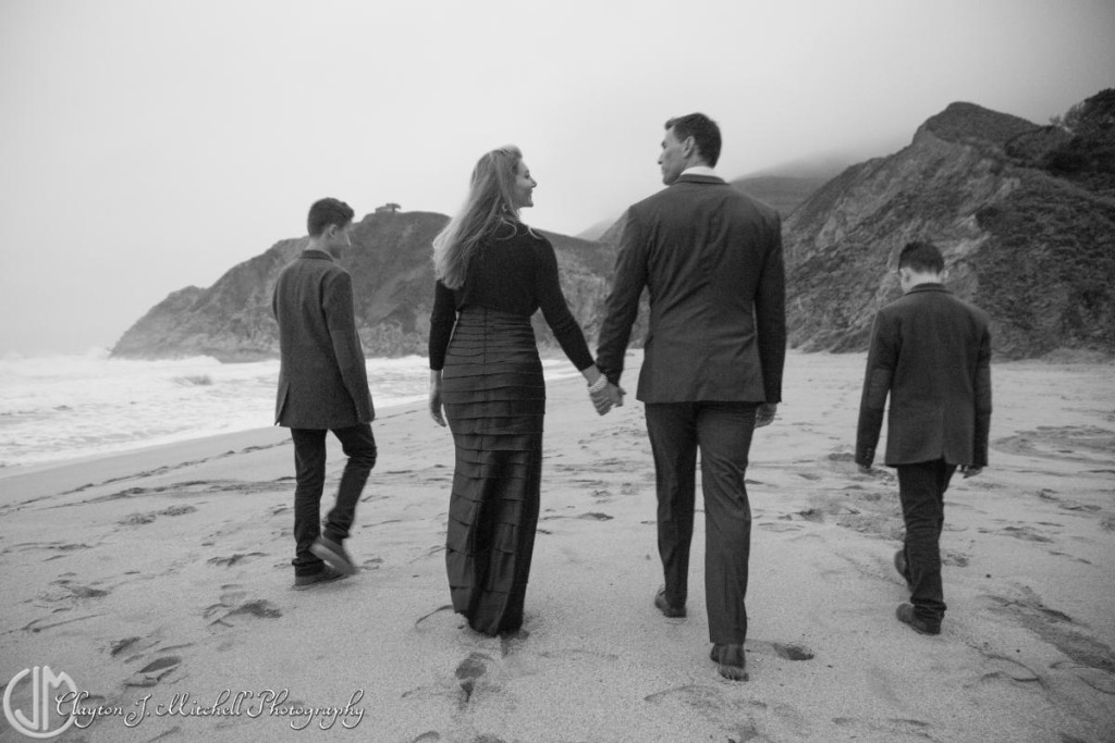 black and white family portrait and lifestyle photography