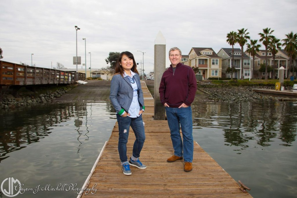 casual outdoor portrait session Alameda CA