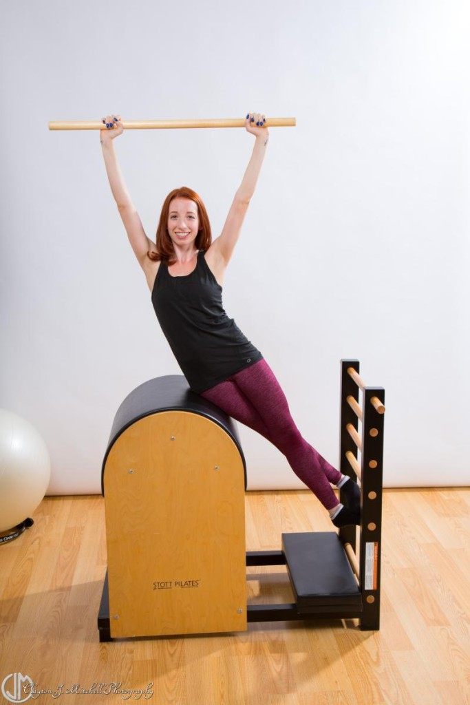 Personal trainer pilates photograph