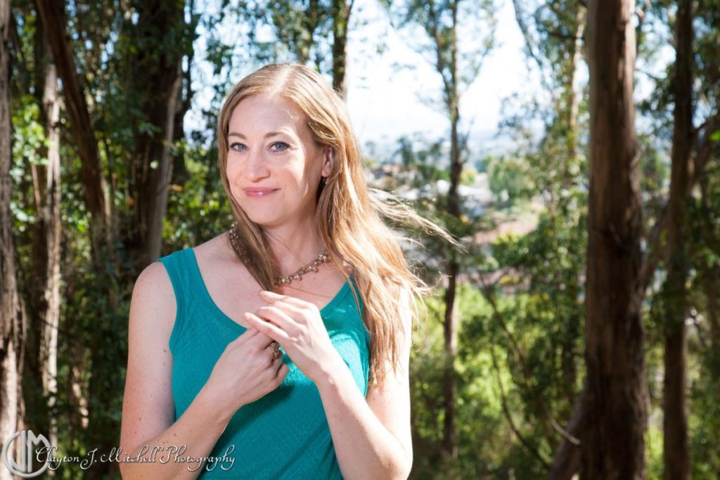 Beautiful Outdoor Portrait Head Shot SF Bay Area