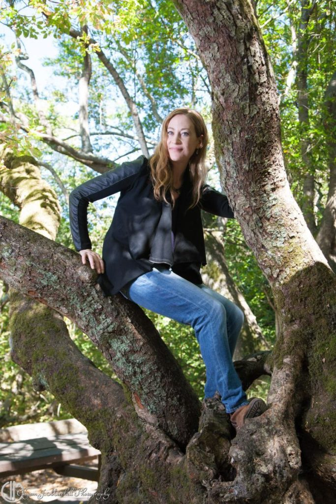 Casual Portrait Photography Woman In A Tree