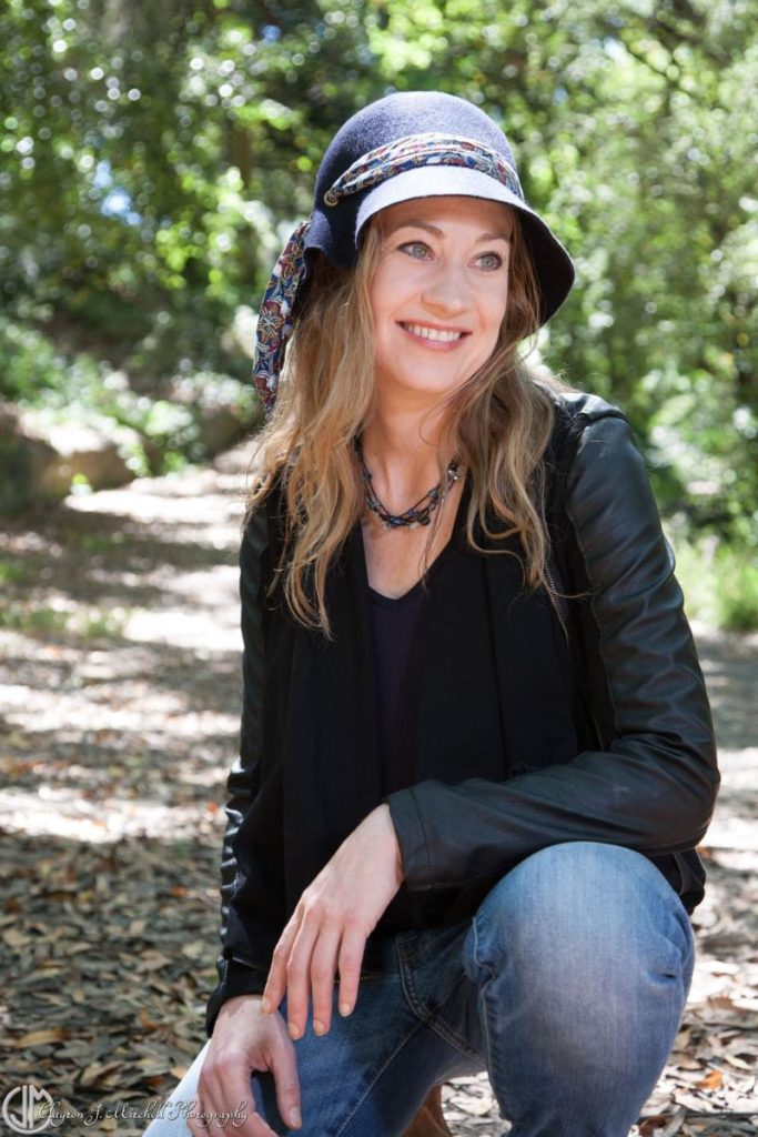 Woman In A Hat Creative Portrait Sessions for Personal Branding San Francisco Bat Area