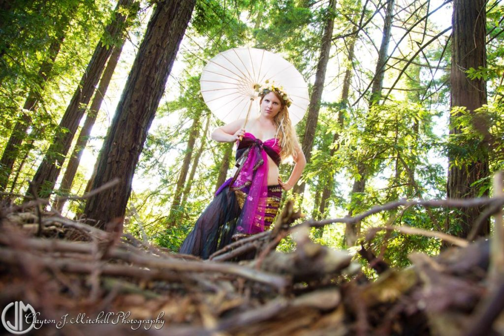 Forest Goddess Photo