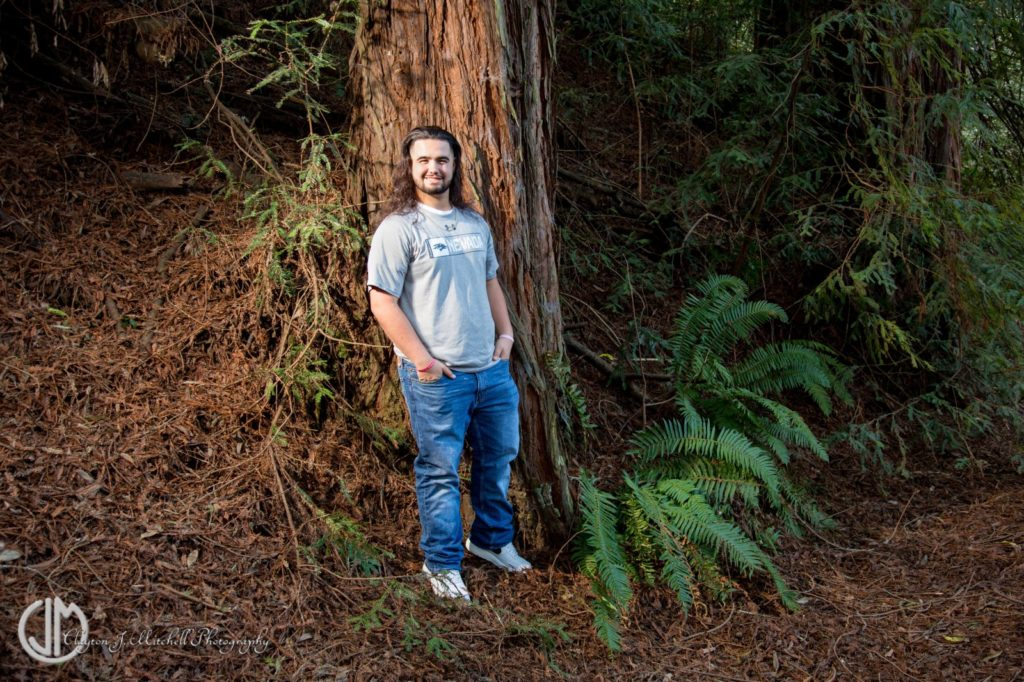 Senior_Portrait_At_Redwood_Regional_Park_Oakland